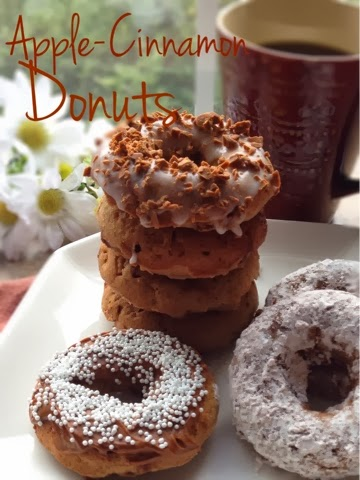 Apple-Cinnamon Baked Donuts