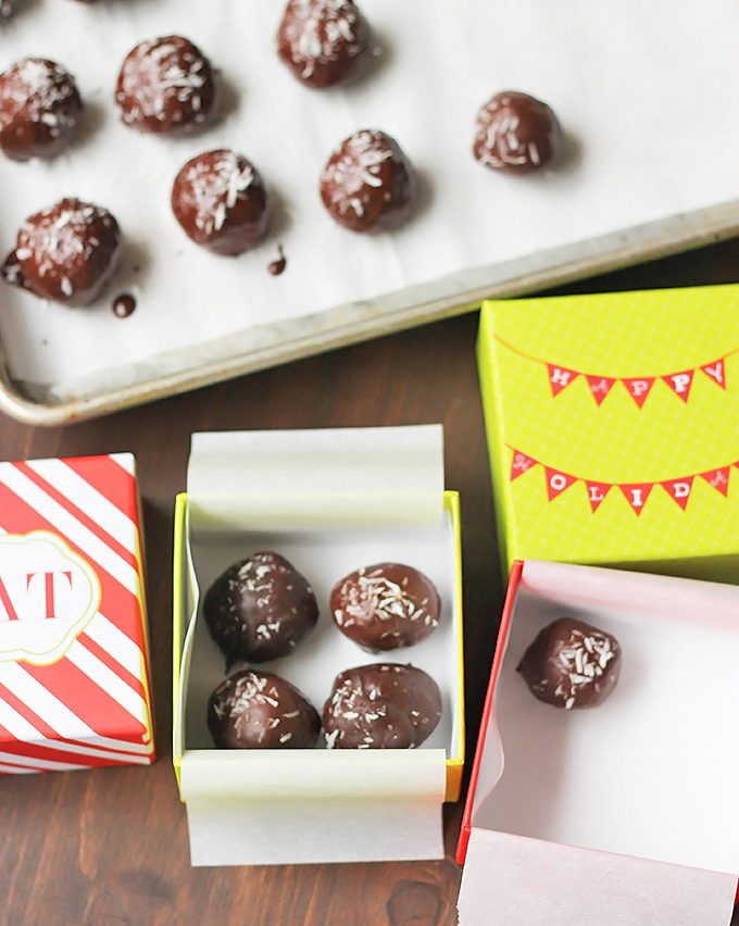 Vegan Dark Chocolate Coconut Candy Bites, Make them to Give or Keep!