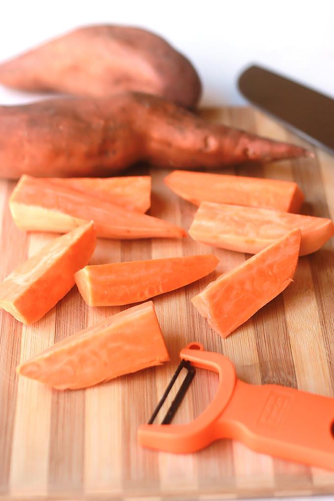 Chopped-Sweet-Potatoes