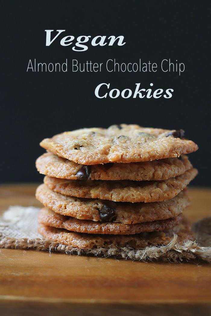 Vegan-Almond-Butter-Chocolate-Chip-Cookies