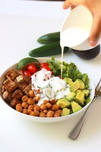 Pouring-Cream-Spicy-Chickpea-Burrito-Bowl