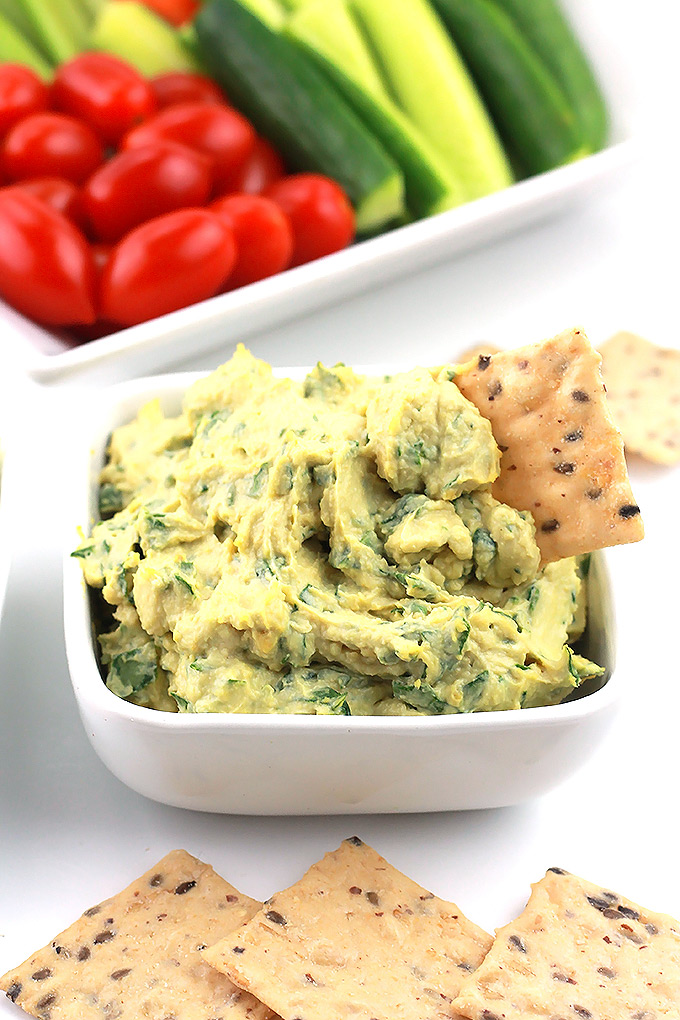 Vegan-Garlic-&-Herb-Spread