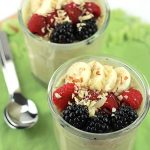 Vanilla Protein Overnight Oats- Packed with plant-based protein from Vega Essentials and no added sugar.