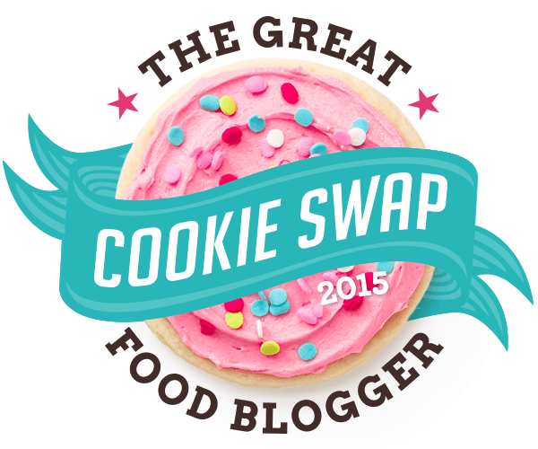 The Great Food Blogger Cookie Swap-Coconut Almond Cookies -Deliciously Vegan