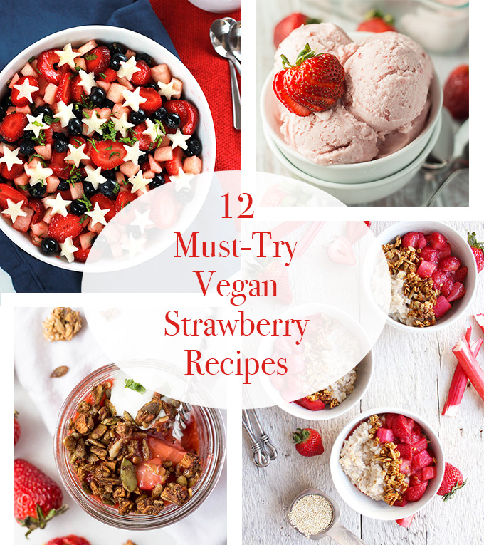 12 Must-Try Strawberry Recipes filled with mouth-watering Strawberry goodness to help you celebrate summer.