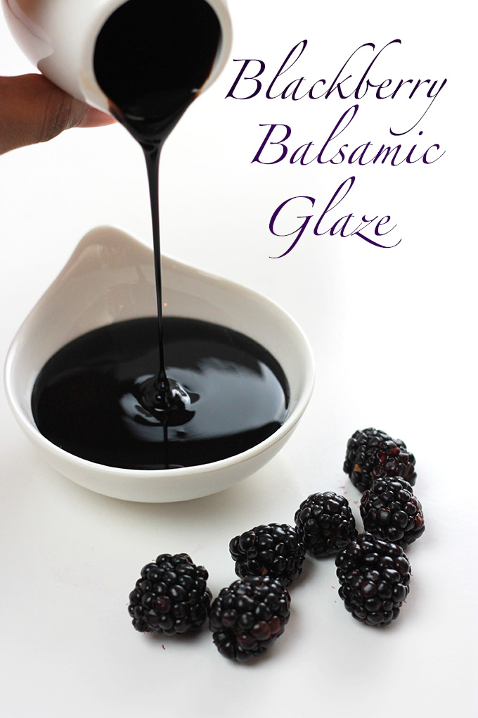 Blackberry Balsamic Glaze The Whole Serving