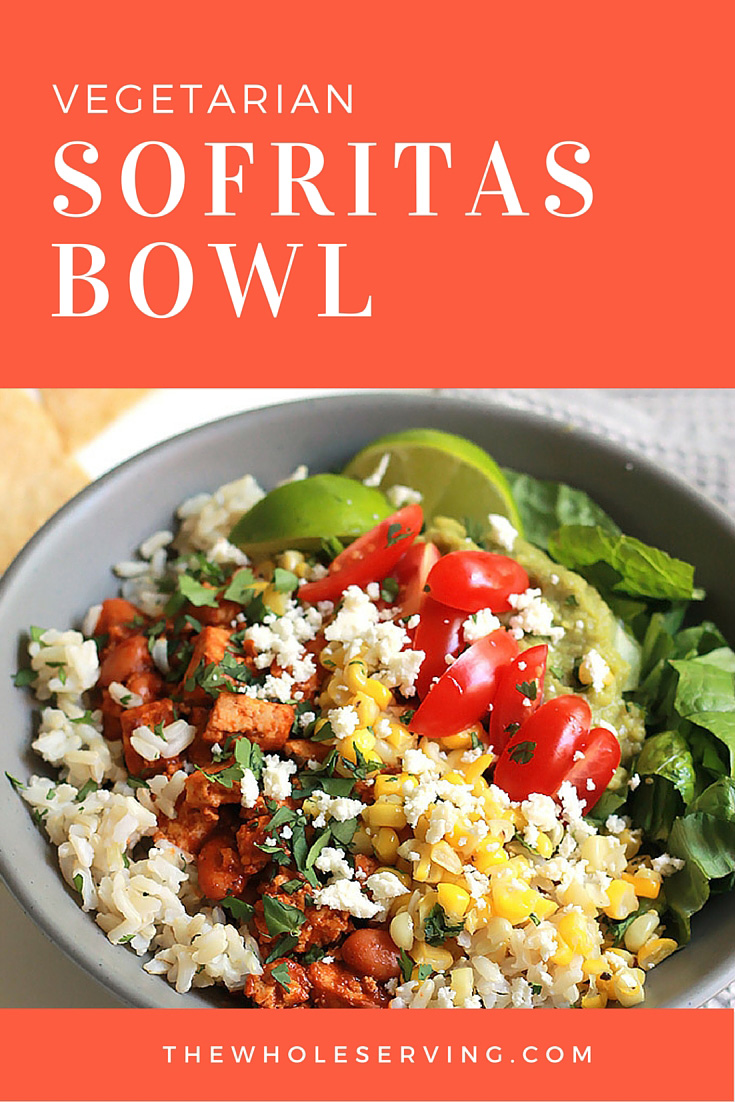 Chipotle peppers, roasted poblanos, aromatic spices, this delicious Sofritas Bowl will please vegans, vegetarians and even the carnivores. It's that good.