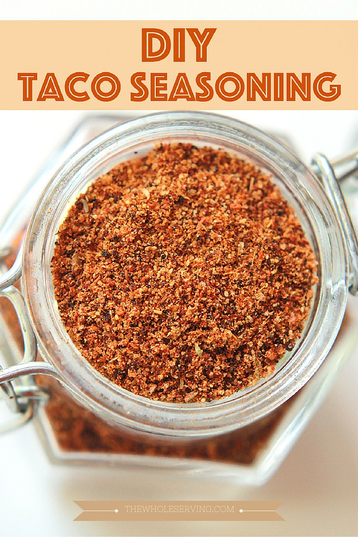 Tacos, nachos, soups, and dips, whatever you want. Skip the store bought package and make your own DIY Taco Seasoning.