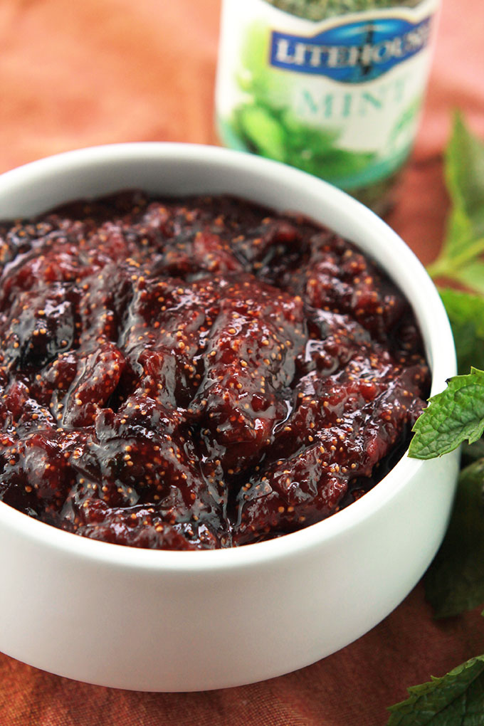 Pure deliciousness, this Easy Maple Fig Jam is super easy to make, no need to add pectin. Serve it on toast, over your oatmeal and yogurt or add to your cheese tray.