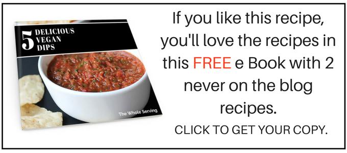 5 Delicious Vegan Dips