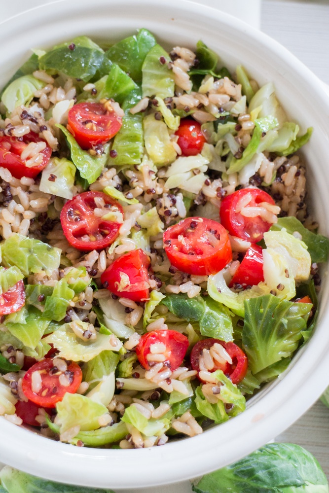 Welcome to Pretty Pintastic Party #168 & 10 Minute Brussels Sprout Quinoa Rice, my favorite pick from our party last week. This is a perfect recipe for those days when you need to get something on the table fast and still keep it healthy.  Check it out over at Brooklyn Farmgirl,