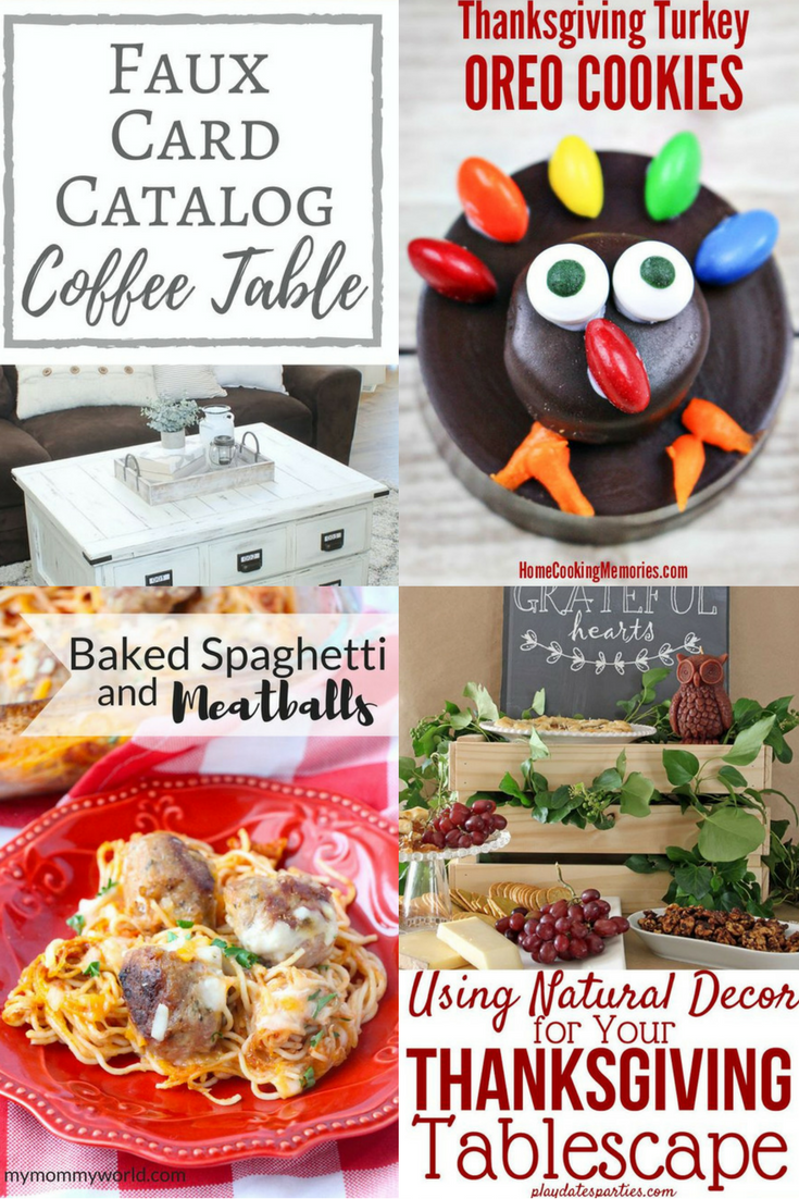Welcome to Pretty Pintastic Party#183 & the Weekly Features, all of which can help you get ready for the big Thanksgiving holiday. Check them out!