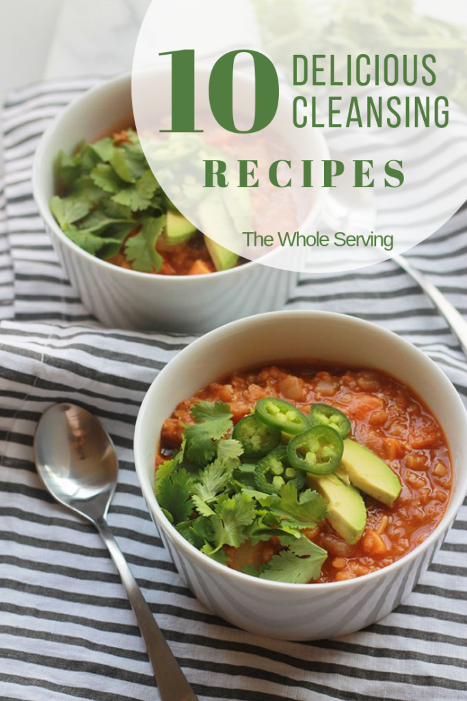 10 Delicious Cleansing Recipes